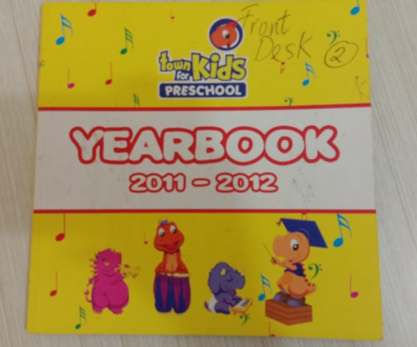 Yearbook preschool 2011-2012